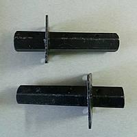 Шестигранная полуось на мотоблок Ø 32 мм длина 220 мм выступ