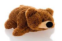 "Декоративная подушка-игрушка ""Мишка""(коричневый) 45 см, фото 1"
