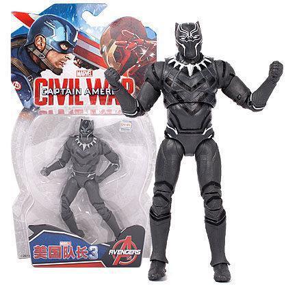 Фігурка Чорна Пантера Марвел), 18 см - Black Panther, Avengers, Marvel