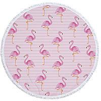 Пляжный коврик Фламинго 150 см