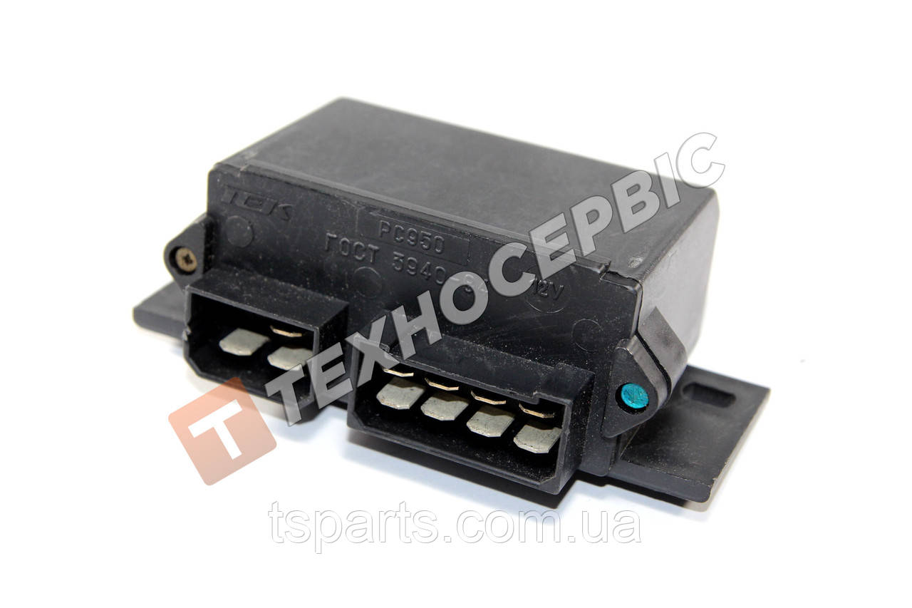 Реле поворотов и аварийной сигнализации, прерыватель поворотов ГАЗель, УАЗ, ЛАЗ ПАЗ ЗИЛ  РС 950(РС950-3726010)