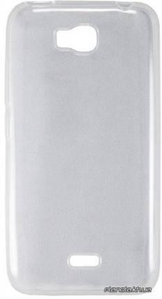 WS силиконовый чехол для Huawei Y6 II прозрачный, фото 2