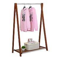 """Вешалка деревянная для одежды """"Модус 2П"""" 146x100x48,5, фото 1"""