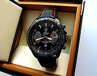 Стильные Мужские кварцевые часы в стиле Tag Heuer GRAND Carrera Calibre 36