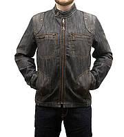Пиджак мужской джинсовый Crown Jeans модель 4001 bic flt rdx Vintage Denim Collection