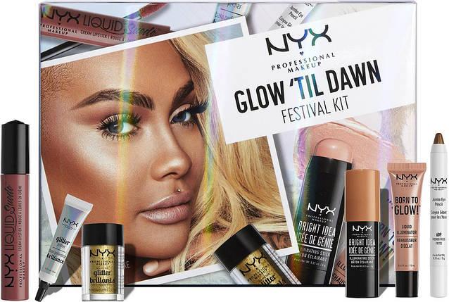 Набор косметики NYX Glow 'Til Dawn Festival Kit, фото 2