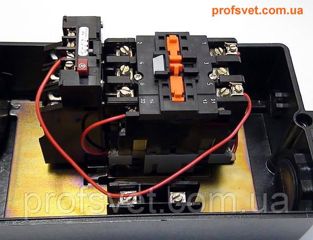 фотография магнитный пускатель в корпусе пмл-4210 63а с реле