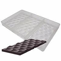 Плитка  Грани поликарбонатная  форма для шоколадных конфет