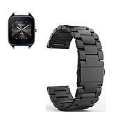 Металлический ремешок для часов Asus ZenWatch 2 (WI501Q) - Black