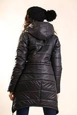 Женская демисезонная куртка «Уголки», фото 3