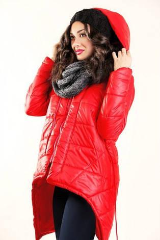 Женская демисезонная куртка «Уголки», фото 2