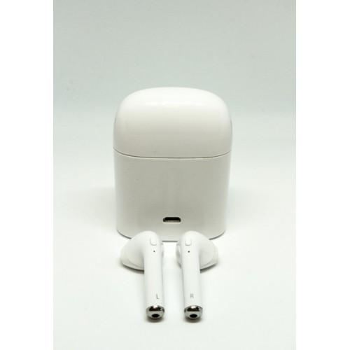 Bluetooth Наушники HBQ I7 Headset Power Bank White