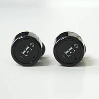 Беспроводные Bluetooth наушники c гарнитурой True Wireless X1T Black, фото 1