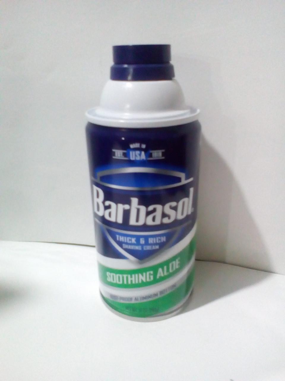 Пена для бритья Barbasol с алое для сухой кожи 283 мл