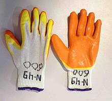 Перчатки прорезиненные (№49)