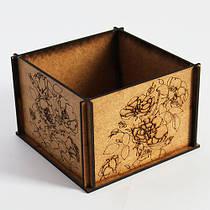 Декоративная деревянная коробка