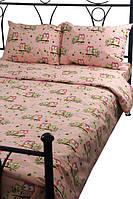 Постельное белье Руно 10-0428 Pink подростковый комплект