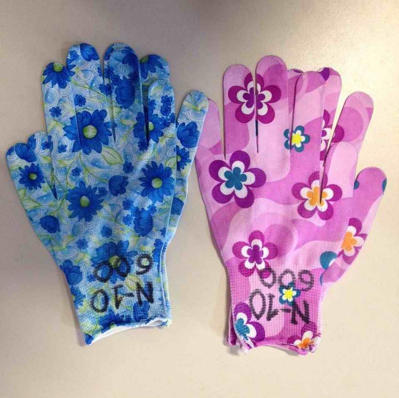 Перчатки рабочие женские летние (№10)