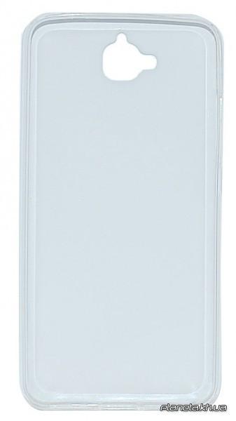 Florence силиконовая накладка для Huawei Y6 Pro прозрачная