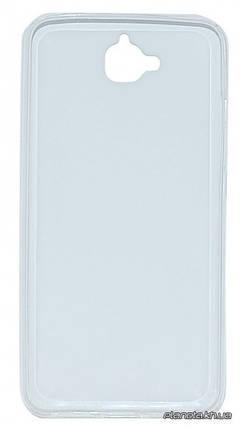 Florence силиконовая накладка для Huawei Y6 Pro прозрачная, фото 2