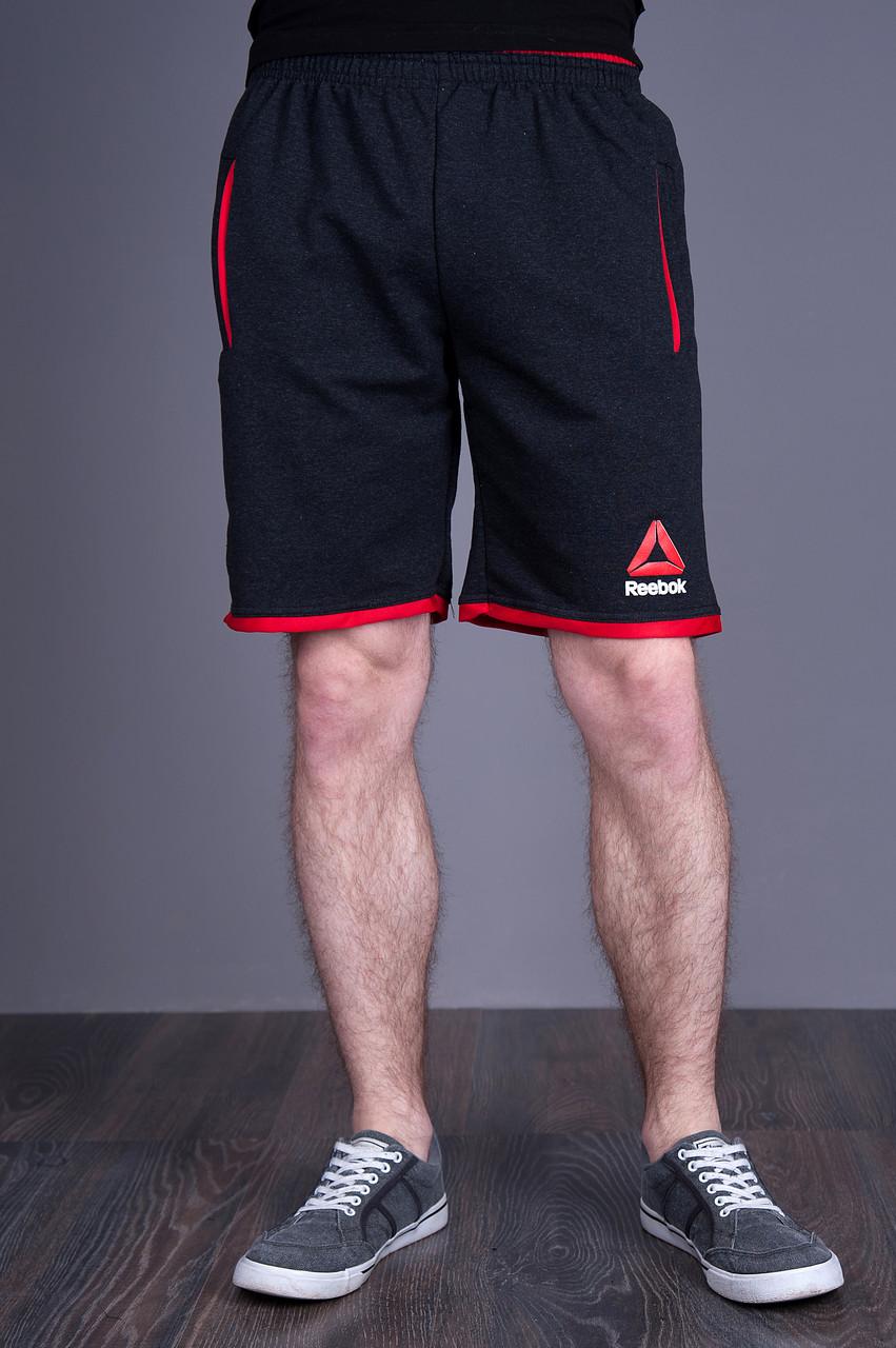 Чоловічі трикотажні шорти Reebok, темно-синього кольору