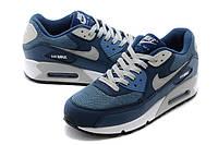 Кроссовки Nike Air Max 90 Blue White Синие мужские