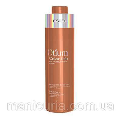 Бальзам-сияние Estel Otium Color Life для окрашенных волос, 1000 мл
