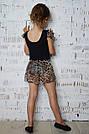 Купальник с леопардовой принтованной сеткой, фото 3