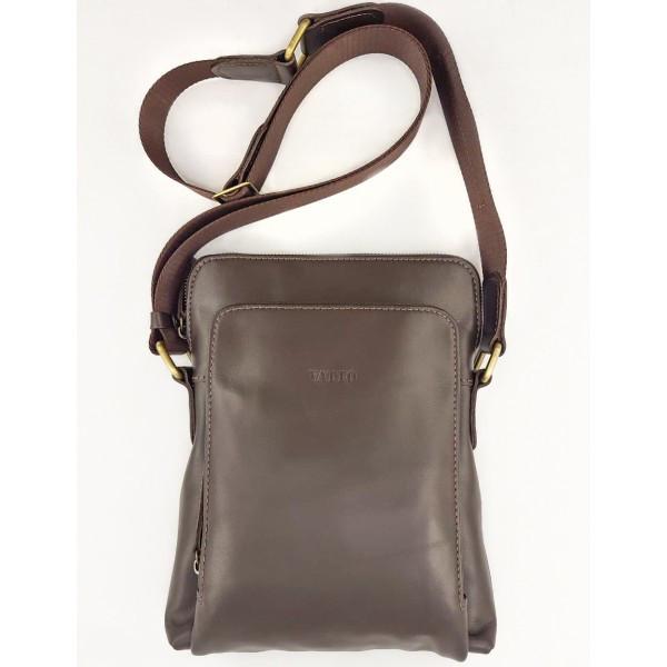 Кожаная мужская сумка Vatto