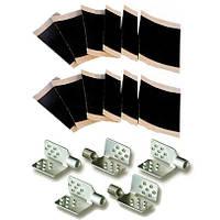 Большой монтажный набор для инфракрасного теплого пола (5 клипс, 12 изоляций), фото 1