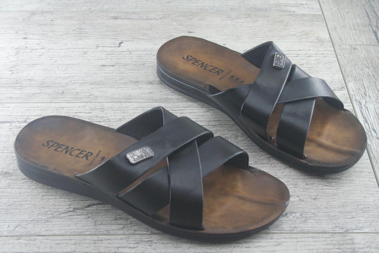 Шлепанцы, сланцы мужские, Spencer Турция, обувь летняя, открытая, качественная