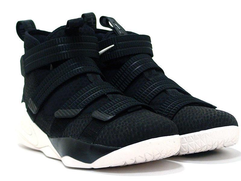 Кроссовки Nike LeBron Soldier 11 Black Sail 897646-004 (Оригинал) 42.5 (27 18f8bafd3