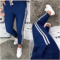Стильные женские брюки с полосками по бокам 3 цвета