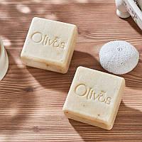 "Натуральное оливковое мыло Olivos ""Крапива"" Square Nettle  100 гр"