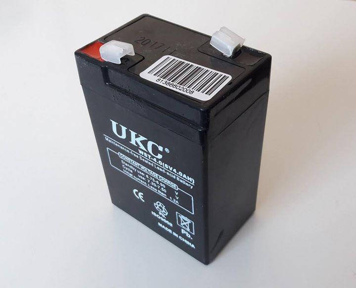 Аккумулятор Батарея 6V 4Ач для весов, фото 2
