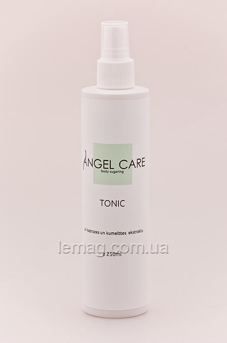 Angel Care Тоник до депиляции с экстрактом иван-чая и ромашки, 250 мл