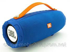 JBL mini Explorer CY-34 10W копия, портативная колонка с Bluetooth FM MP3, синяя, фото 3