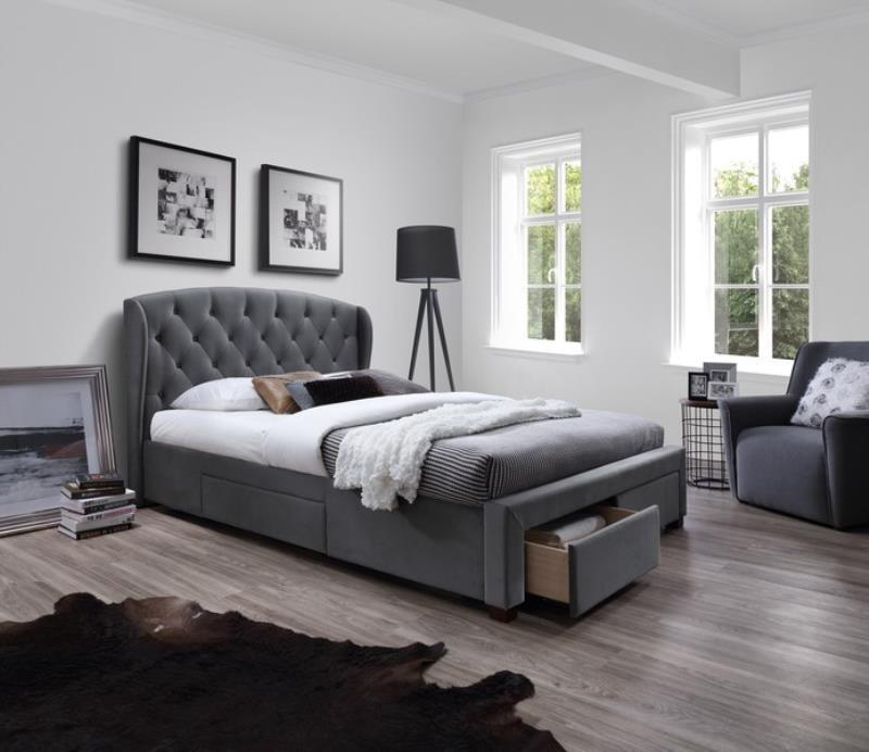 Двуспальная кровать Halmar SABRINA