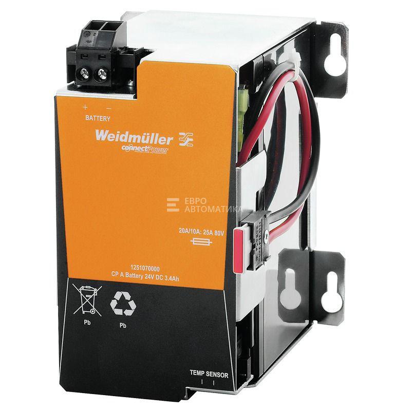 Батарея для ИБП Weidmuller CP A BATTERY 24V DC3.4AH - 1251070000