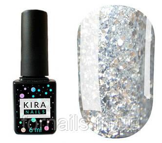 Гель-лак Kira Nails Shine Bright №002, 6