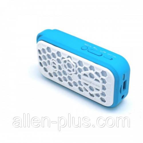 Акустична Bluetooth-колонка NEEKA NK-BT07, blue