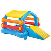 Водный надувной игровой центр Intex 58294 Island With Slide