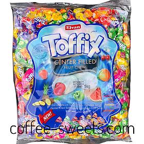 Жевательная конфета Elvan Toffix 1кг