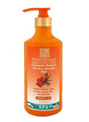 Шампунь для сухих окрашенных волос с маслом облепихи Health & Beauty (326271) 780 мл.