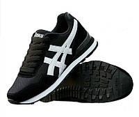 Кроссовки Asics Classic Black Черные мужские реплика 00723a0a0e770