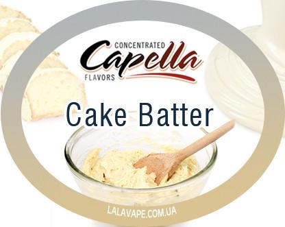 Ароматизатор Capella Cake Batter (Тесто для кекса)
