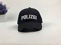 Кепка бейсболка Polizei (черная)