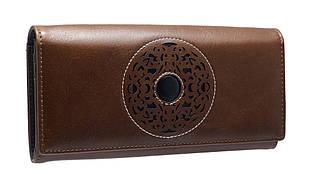 Кошелек женский кожаный Cossni 505919 коричневый