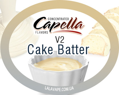 Ароматизатор Capella Cake Batter v2 (Тесто для кекса v2)