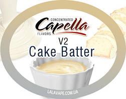 Ароматизатор Capella Cake Batter v2 (Тесто для кекса v2)